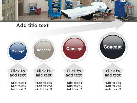 Medical Equipment For Operation Room PowerPoint Template Slide 13
