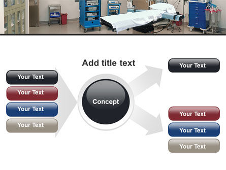 Medical Equipment For Operation Room PowerPoint Template Slide 14