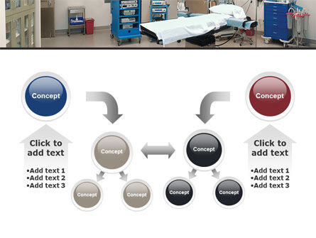 Medical Equipment For Operation Room PowerPoint Template Slide 19