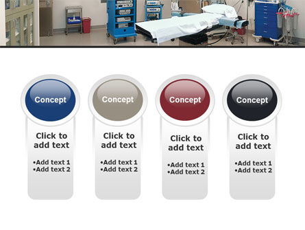 Medical Equipment For Operation Room PowerPoint Template Slide 5