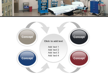 Medical Equipment For Operation Room PowerPoint Template Slide 6