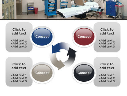 Medical Equipment For Operation Room PowerPoint Template Slide 9
