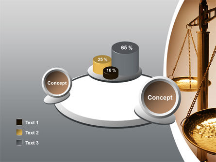Scale of Justice PowerPoint Template Slide 16