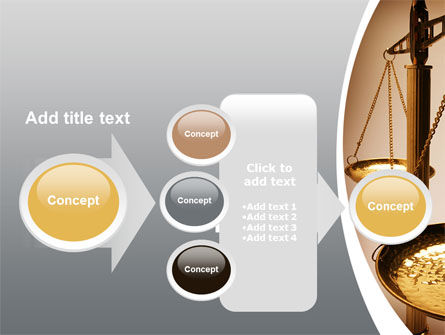 Scale of Justice PowerPoint Template Slide 17