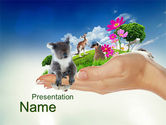 Wild Life of Australia PowerPoint Template#1