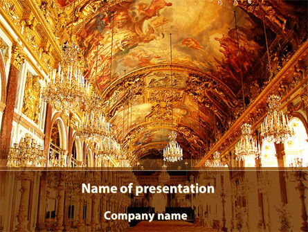 Art & Entertainment: Architecture of the Renaissance PowerPoint Template #09986