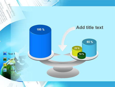 Flying Papers PowerPoint Template Slide 10