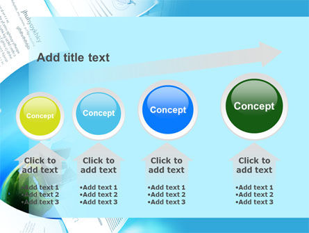 Flying Papers PowerPoint Template Slide 13