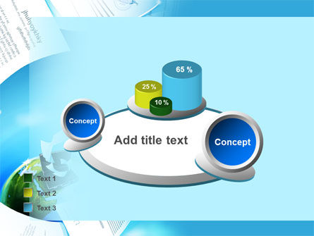 Flying Papers PowerPoint Template Slide 16