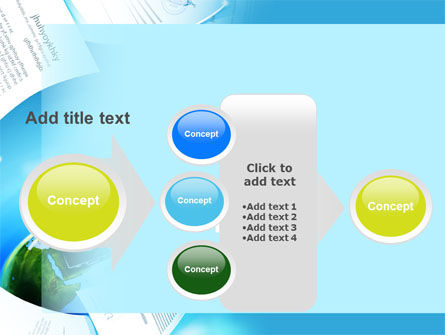 Flying Papers PowerPoint Template Slide 17
