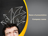 Education & Training: Ways Of Thoughts PowerPoint Template #09990
