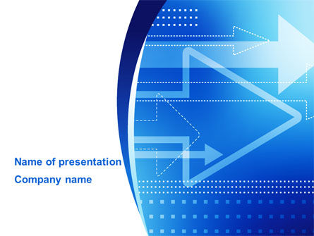 Direction of Future Development PowerPoint Template