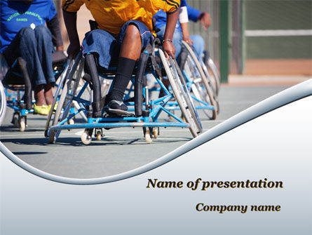 Medical: Paralympic Games PowerPoint Template #09994