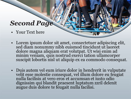 Paralympic Games PowerPoint Template, Slide 2, 09994, Medical — PoweredTemplate.com