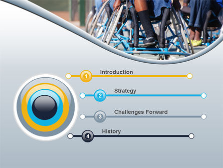 Paralympic Games PowerPoint Template, Slide 3, 09994, Medical — PoweredTemplate.com