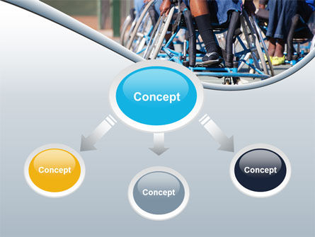 Paralympic Games PowerPoint Template, Slide 4, 09994, Medical — PoweredTemplate.com