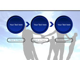 Circle of Friends PowerPoint Template#5