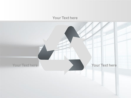 Glassed-in Gallery PowerPoint Template Slide 10