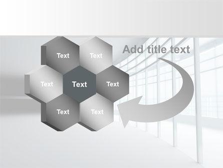 Glassed-in Gallery PowerPoint Template Slide 11