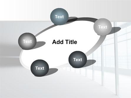 Glassed-in Gallery PowerPoint Template Slide 14