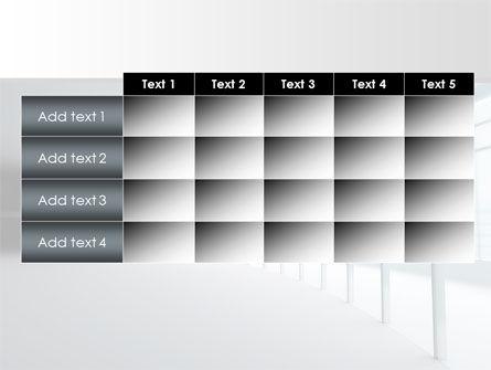 Glassed-in Gallery PowerPoint Template Slide 15