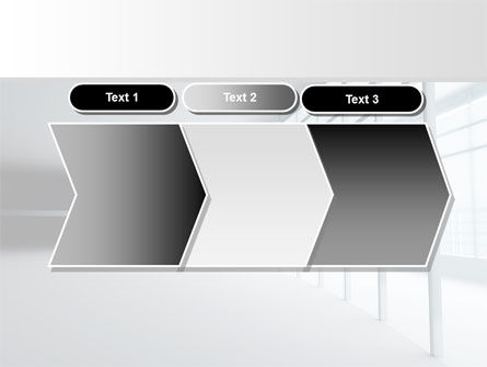 Glassed-in Gallery PowerPoint Template Slide 16