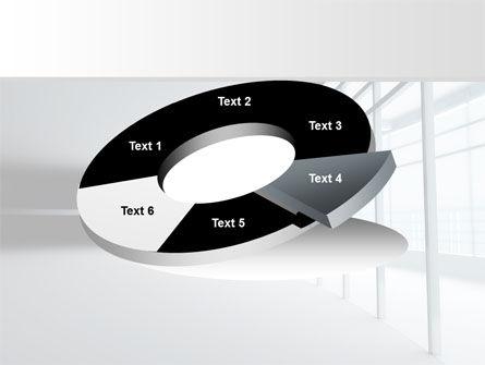 Glassed-in Gallery PowerPoint Template Slide 19