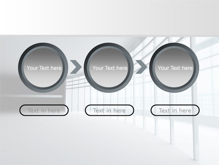 Glassed-in Gallery PowerPoint Template Slide 5