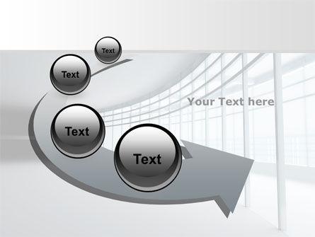 Glassed-in Gallery PowerPoint Template Slide 6