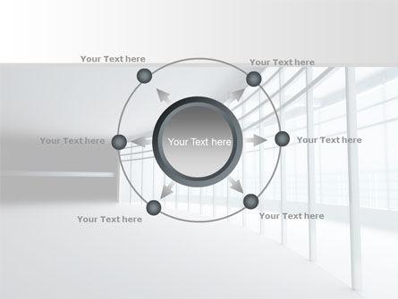 Glassed-in Gallery PowerPoint Template Slide 7