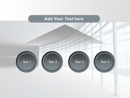 Glassed-in Gallery PowerPoint Template Slide 8