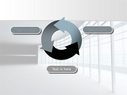 Glassed-in Gallery PowerPoint Template Slide 9