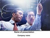 Business: Indeling Van De Kamer Planning Discussie PowerPoint Template #09997