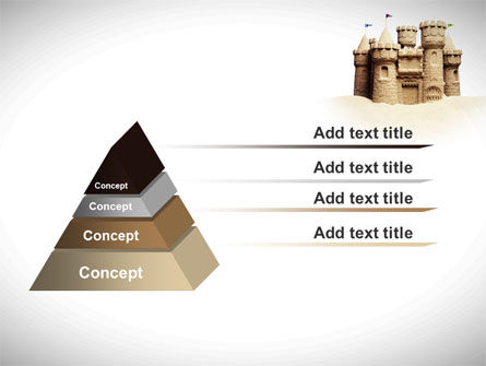 Sand Castle PowerPoint Template Slide 12
