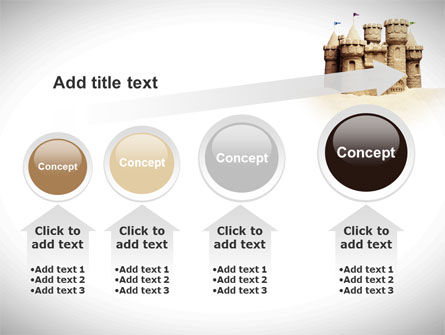 Sand Castle PowerPoint Template Slide 13