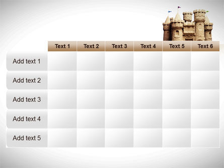 Sand Castle PowerPoint Template Slide 15