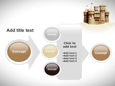 Sand Castle PowerPoint Template Slide 17