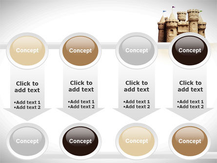 Sand Castle PowerPoint Template Slide 18