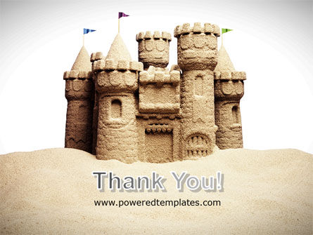 Sand Castle PowerPoint Template Slide 20