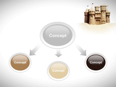 Sand Castle PowerPoint Template Slide 4