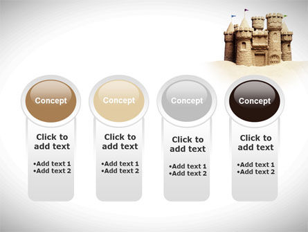 Sand Castle PowerPoint Template Slide 5