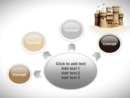 Sand Castle PowerPoint Template Slide 7