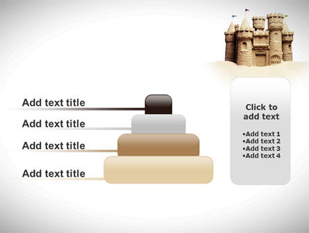 Sand Castle PowerPoint Template Slide 8