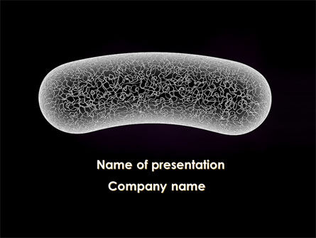 Bacilli PowerPoint Template, 10003, Technology and Science — PoweredTemplate.com