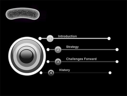 Bacilli PowerPoint Template, Slide 3, 10003, Technology and Science — PoweredTemplate.com