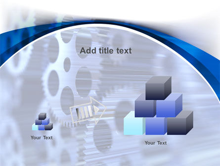 Wheels of Pinion PowerPoint Template Slide 13