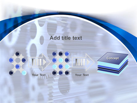Wheels of Pinion PowerPoint Template Slide 9