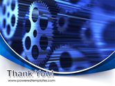 Wheels of Pinion PowerPoint Template#20