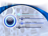 Wheels of Pinion PowerPoint Template#3