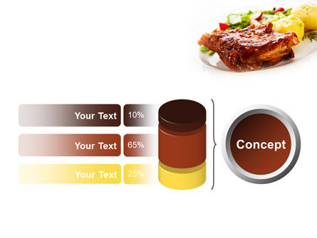 Pork Ribs with Potatoes PowerPoint Template Slide 11